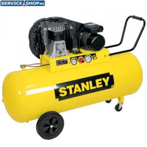 Compresor de aer B350/10/100 cu 2 cilindri 10bar 100l Stanley 28FA504STN014